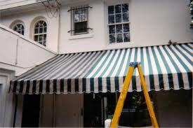 cleaning awning mold